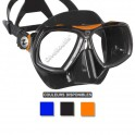 Masque AQUALUNG LOOK2 jupe noire orange