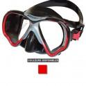 Masque BEUCHAT VIEW-MAX 2 HD jupe noire rouge