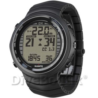 Ordinateur SUUNTO DX NOIR TITANIUM + interface PC USB
