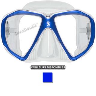 Masque SCUBAPRO SPECTRA jupe transparente / bleu