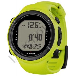 Ordinateur SUUNTO D4i NOVO JAUNE + interface PC USB