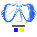 Masque MARES X-VISION ULTRA LiquidSkin jupe transparente bleu