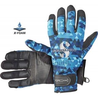Gants SCUBAPRO TROPIC 1,5 mm aegan