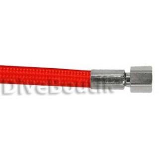Flexible détendeur tressé rouge