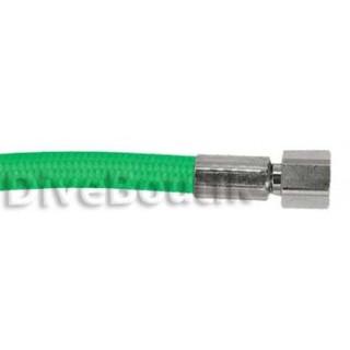 Flexible détendeur tressé vert
