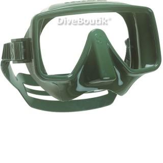 Masque SCUBAPRO FRAMELESS vert militaire
